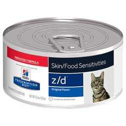 Hills Prescription Diet Feline z/d консервы для кошек при пищевой аллергии ( 0,156 кг) 1 шт
