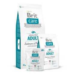 Brit Care Grain-free Salmon корм для собак всех пород c лососем 12 кг