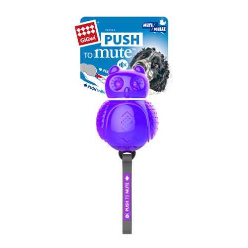 GiGwi игрушка для собак Сова с отключаемой пищалкой