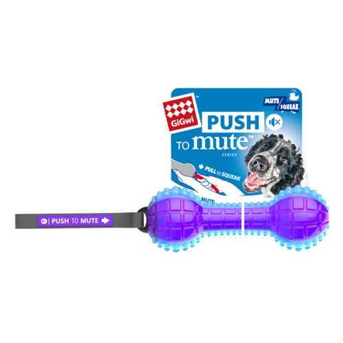 GiGwi игрушка для собак Гантеля с отключаемой пищалкой