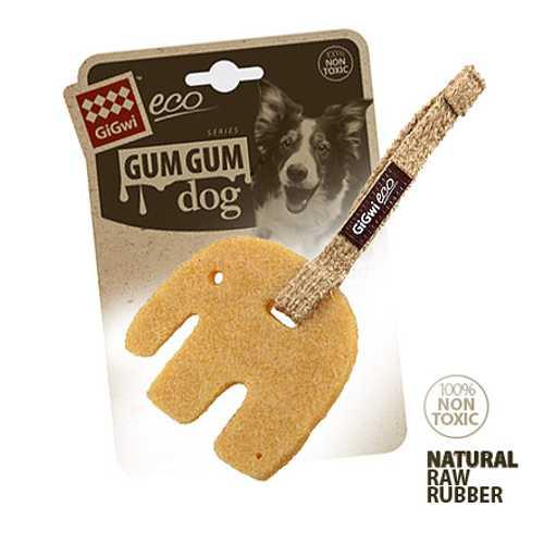 GiGwi игрушка для собак Слон 9 см