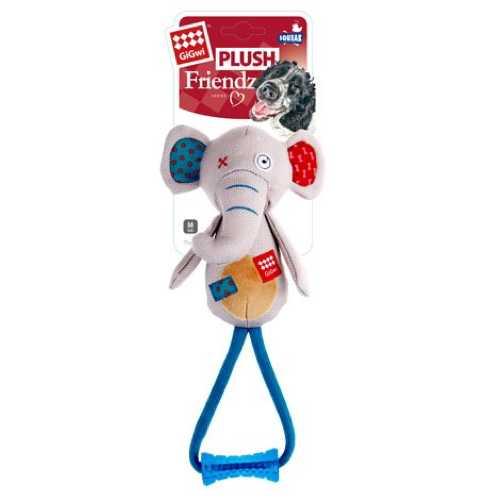 GiGwi игрушка для больших собак Слон с пищалкой