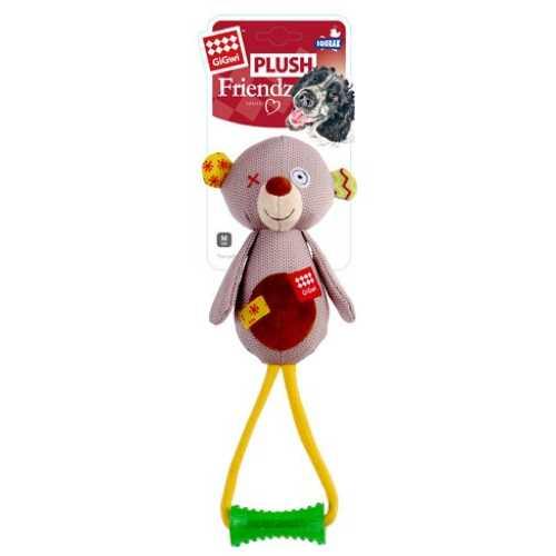 GiGwi игрушка для больших собак Медведь с пищалкой