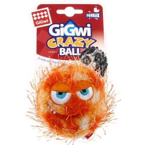 GiGwi игрушка для собак сумашедший Мяч с пищалкой