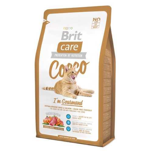 Brit Care Gourmand сухой корм для привередливых кошек 2 кг