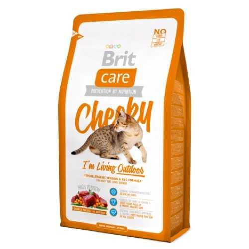 Брит Кеа сухой корм для кошек часто бывающих на улице 2 кг