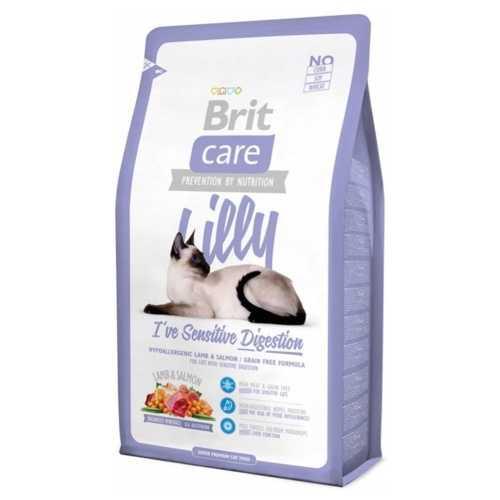 Брит Кеа сухой корм для кошек с чувствительным пищеварением 2 кг