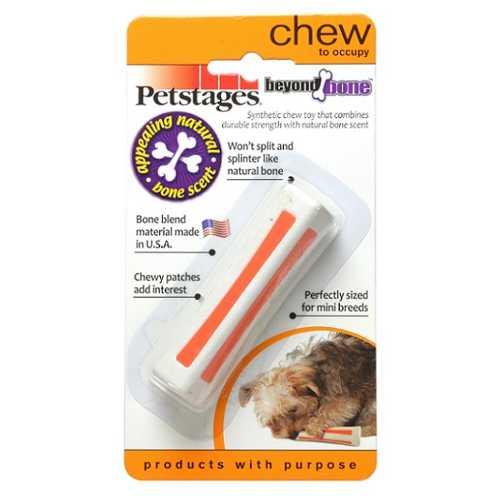 Petstages игрушка для собак Beyond Bone, с ароматом косточки очень маленькая