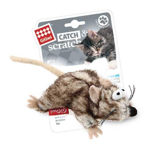 GiGwi игрушка для кошек Мышь с кошачьей мятой