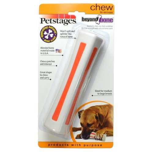 Petstages игрушка для собак Beyond Bone, с ароматом косточки большая