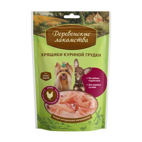 Деревенские лакомства для собак Хрящики куриной грудки 30 гр