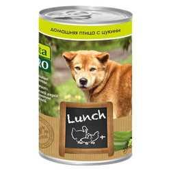 Vita Pro Lunch консервы для собак птица/цукини 400 гр х 6 шт