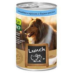 Vita Pro Lunch консервы для собак индейка/кролик/рис 400 гр х 6 шт