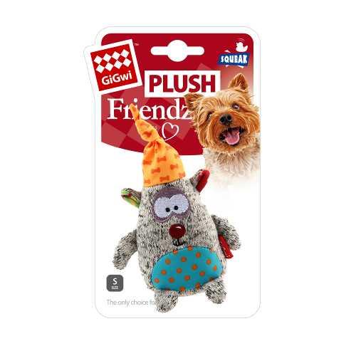 GiGwi игрушка для собак медведь с пищалкой