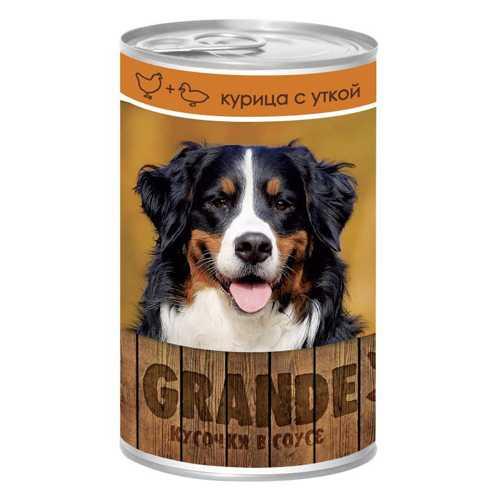 Vita Pro Grande консервы для собак курица/утка (1,25 кг) 12 шт