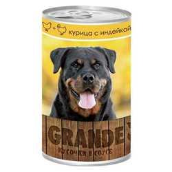 Vita Pro Grande консервы для собак курица/индейка 1250 гр х 12 шт
