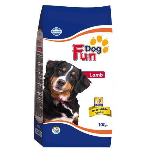 Фан дог для собак с ягненком 10 кг