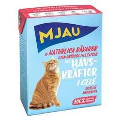 Mjau консервы для кошек кусочки лангуста в желе 380 гр