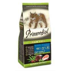 Primordial беззерновой корм для кошек лосось с тунцом 2 кг