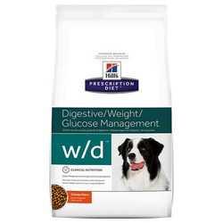 Hills W/D сухой диетический корм для собак при лечении сахарного диабета 12 кг