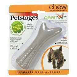 Petstages Deerhorn игрушка для собак оленьи рога 12 см