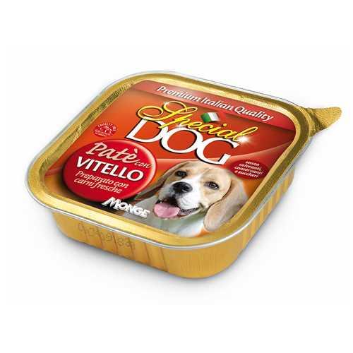 Спешиал дог консервы для собак паштет телятина (0,15 кг) 24 шт