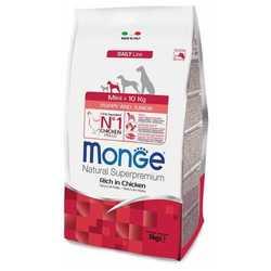Monge Dog Mini Puppy Junior сухой корм для щенков мелких пород 3 кг