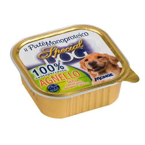 Спешиал дог консервы для собак паштет из 100% мяса ягненка (0,30 кг) 18 шт
