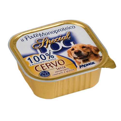 Спешиал дог консервы для собак паштет из 100% мяса оленины (0,30 кг) 18 шт