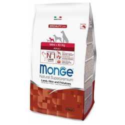 Monge Dog Speciality Mini Lamb корм для собак мелких пород с ягненком 7,5 кг