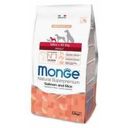 Monge Dog Speciality Mini Salmon корм для собак мелких пород с лососем 2,5 кг
