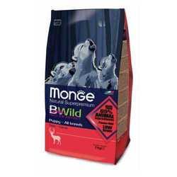 Monge Bwild Puppy Deer корм для щенков с олениной 2 кг