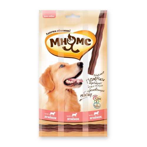Мнямс лакомство для собак с ягненком 15 гр х 3 шт
