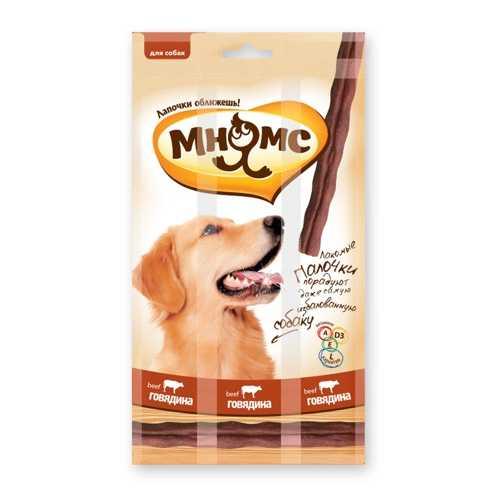 Мнямс лакомство для собак с говядиной 15 гр х 3 шт