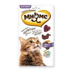 Мнямс лакомство для кошек мясное ассорти 35 гр