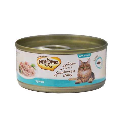Мнямс консервы для кошек с тунцом (0.07 кг) 12 шт