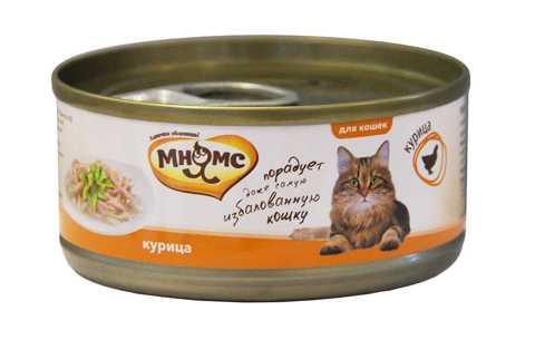 Мнямс консервы для кошек с курицей (0.07 кг) 12 шт