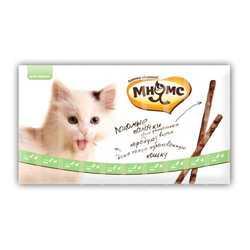 Мнямс лакомство для кошек утка с кроликом 5 гр х 10 шт