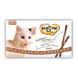Мнямс лакомство для кошек индейка с ягненком 5 гр х 10 шт