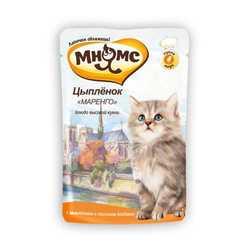 Мнямс паучи для котят (0.085 кг) 12 шт