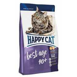 Хэппи Кет Фит & Велл сухой корм для пожилых кошек 4 кг