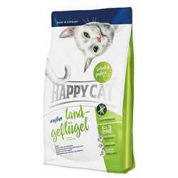 Хэппи Кет сухой корм для кошек с птицей 4 кг