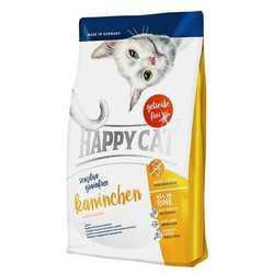 Хэппи Кет сухой беззерновой корм для кошек с кроликом 4 кг