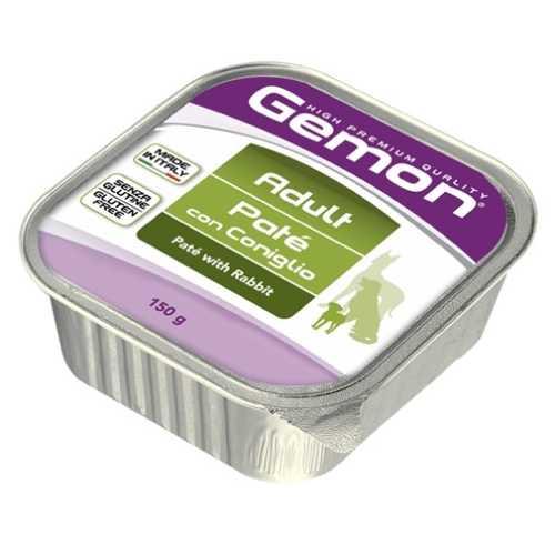 Gemon Dog консервы для собак паштет кролик (0.15 кг) 24 шт
