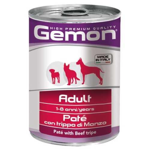 Gemon Dog консервы для собак паштет говяжий рубец (0.40 кг) 12 шт