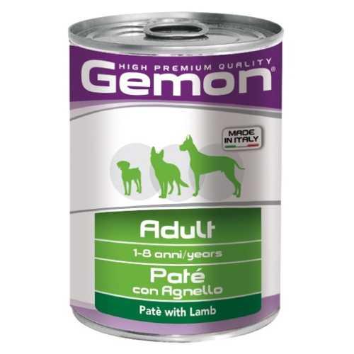 Gemon Dog консервы для собак паштет ягненок (0.40 кг) 12 шт