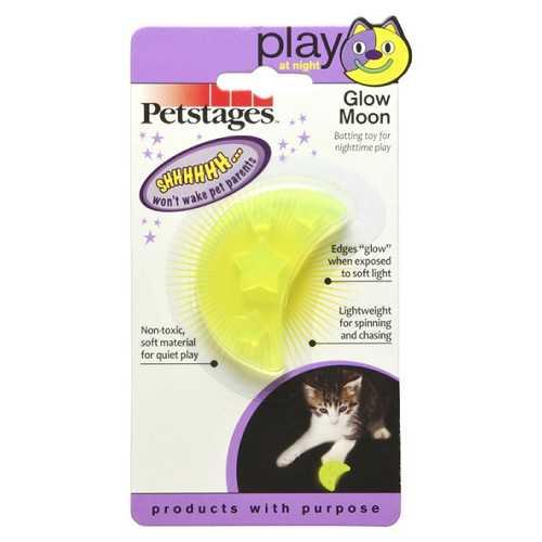 Petstages игрушка для кошек ОРКА Луна светящаяся в темноте