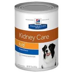 Hills k/d диетические консервы для собак при заболеваниях почек (0,370 кг) 1 шт