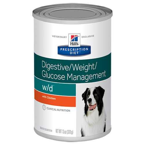 Hills w/d диетические консервы для собак при ожирении (0,370 г) 1 шт