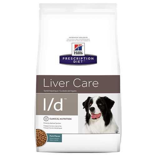 Hills L/D сухой диетический корм для собак при заболевании печени 2 кг
